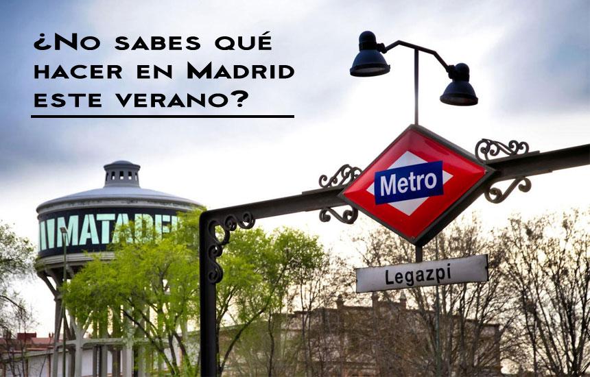 Planes en Madrid durante Agosto