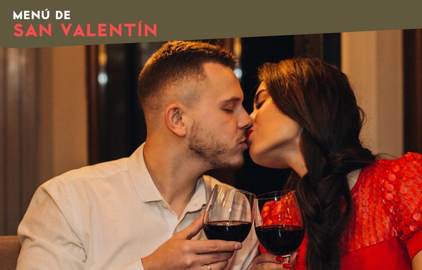 Cena romántica para San Valentín en Madrid
