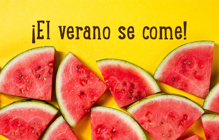 ¿Cuáles son los alimentos de temporada del verano?