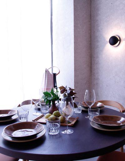 Mesa en restaurante Nantes, en Legazpi - Madrid