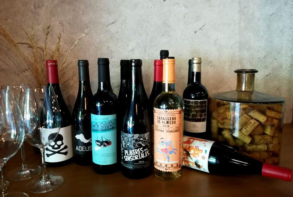selección de vinos en restaurante nantes (Legazpi - Madrid)